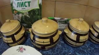 Суп с говядиной и лисичками в горшочках / Soup with beef and mushrooms in pots