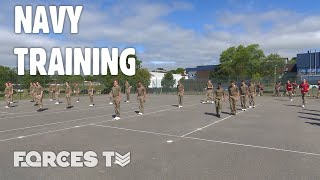 How Is The Royal Navy Training New Recruits While Social Distancing? | Forces TV