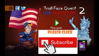 Troll Face Quest (Lvl 1 - 17 Full Quest) | USA Adventure 2