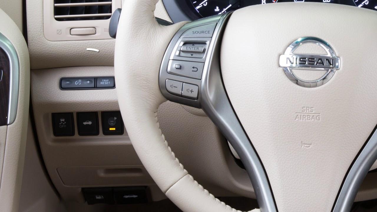 2018 Nissan Altima - Instrument Brightness Control