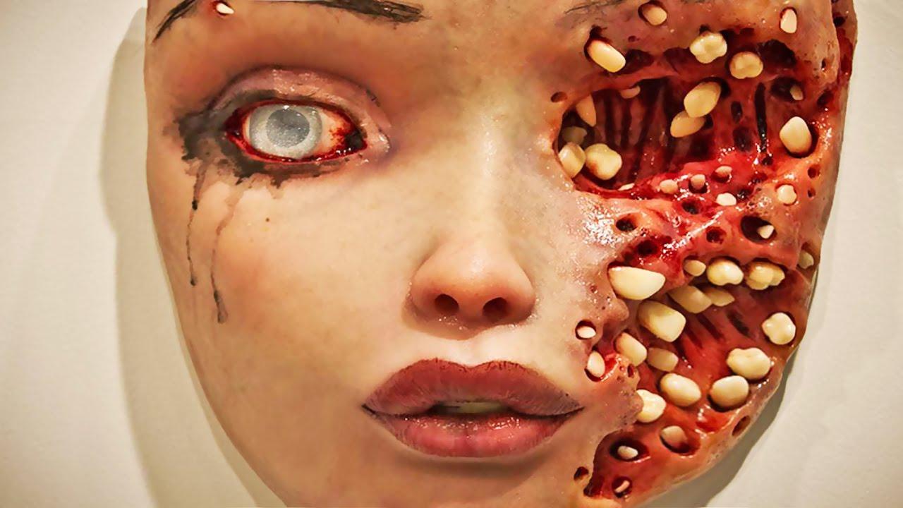 trypophobia exhibit the fear of holes youtube