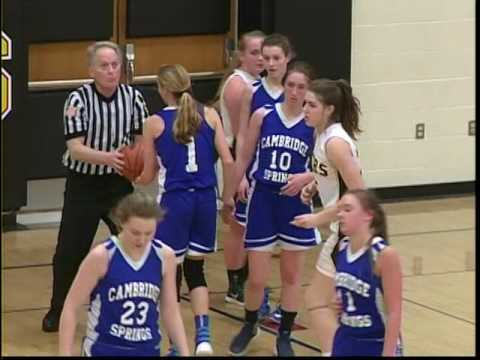 Cambridge Springs vs Maplewood-Girls High School Basketball