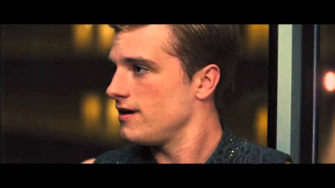 The Hunger Games Catching Fire elevator scenes - YouTube