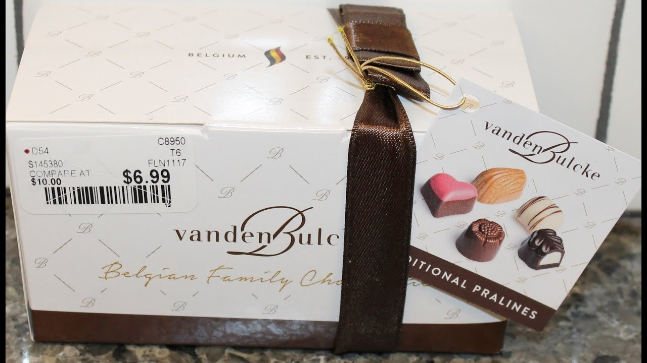 Vandenbulcke Traditional Pralines Review - YouTube