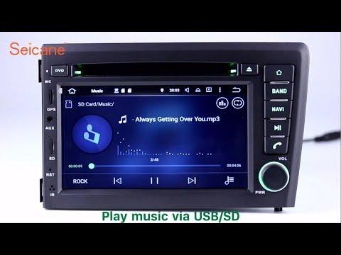 2001 2002 2003 2004 VOLVO S60 V70 autoradio DVD GPS Navigation system with  Bluetooth Music