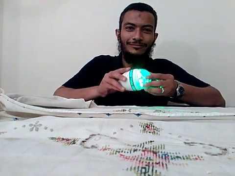Amazing Self Powered LED Lamp. No Free Energy