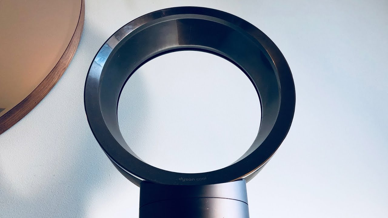 How to (really) clean a Dyson Fan - YouTube