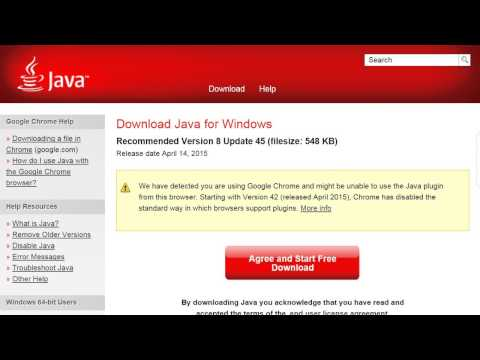 How To Enable In Java In Google Chrome - April 2015 Fix!