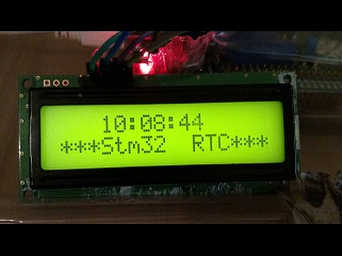 Real Time Clock STM32