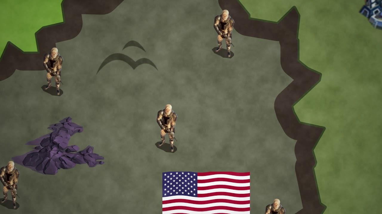 Empire WW3 Fancy Map War Trailer - Empire World War III