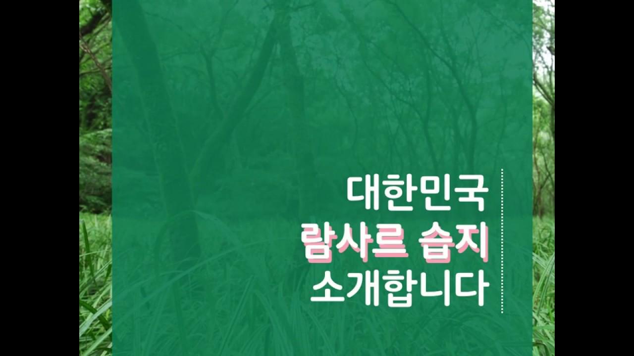 [카드뉴스] 대한민국 람사르 습지를 소개합니다