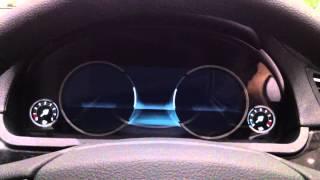 BMW 7series F01 LCI デジタルメーター 起動!