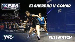 PSA Rewind: 2016 British Open Final - Nour El Sherbini v Nouran Gohar