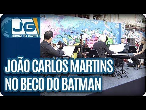 João Carlos Martins no Beco do Batman