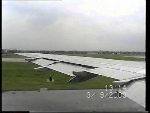 Angel Air L-1011 Bangkok & Hong Kong Landing Cockpit video