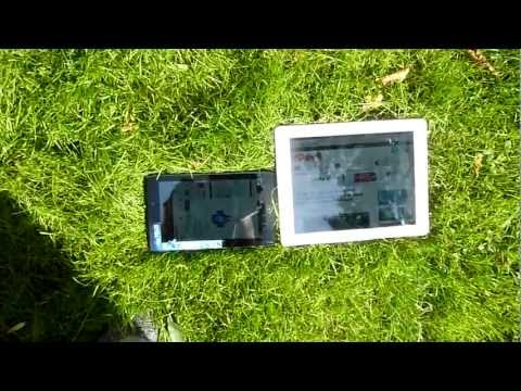 Acer Iconia Tab A100 Outdoor Test