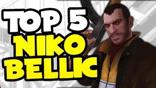 "TOP 5 BEST ""NIKO BELLIC"" EASTER EGGS IN GTA 5! (GTA V)"
