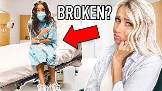ANOTHER TRiP TO THE EMERGENCY ROOM!! *She's SO Brave!*