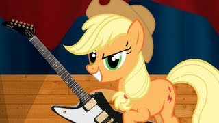 Applejack The Rebellious Rocker