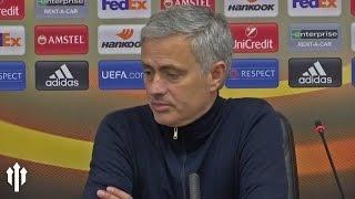 Jose Mourinho: PRESS CONFERENCE FC Zorya 0-2 Manchester United