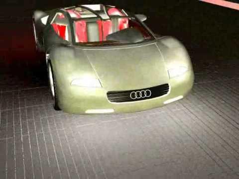 Audi AVUS Quattro-3D