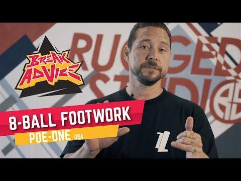 8-Ball Footwork /w Poe-One   BREAK ADVICE