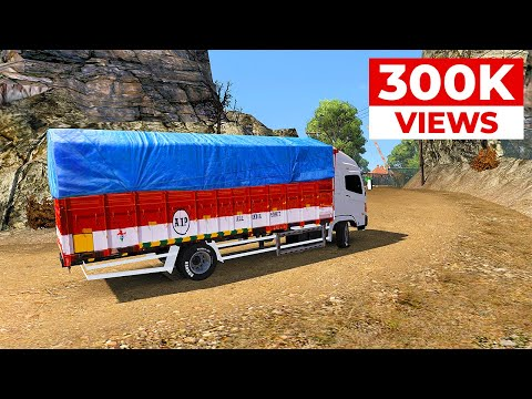 indian-truck-driving-|-hitchhiking-in-india-|-ets2