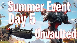 Heavy Shotgun Gun Game LTM & Lava - 14 Days of Summer Event Day 5 - Free Event Challenges - Fortnite
