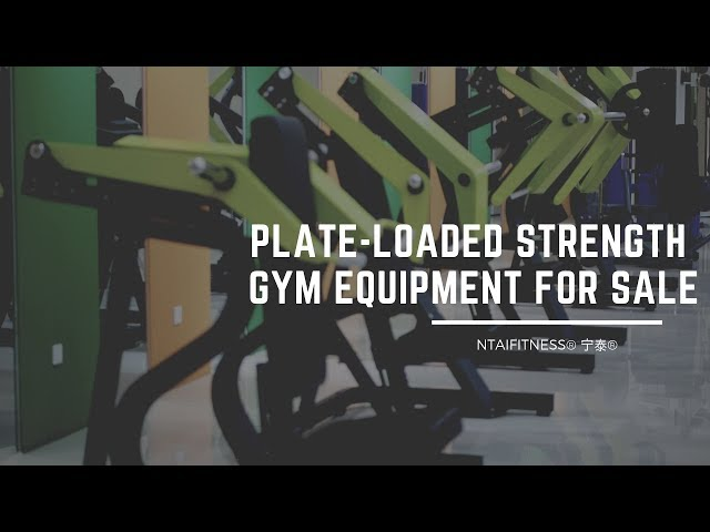 Plate Loaded Strength Equipment for Sale