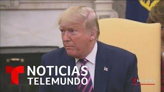 Trump inunda su cuenta de Twitter con cientos de mensajes en su defensa | Noticias Telemundo