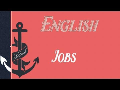ZAWODY PO ANGIELSKU Jobs | OnBoard Vocabulary
