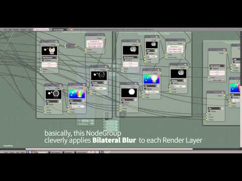 Noise Reduction in Blender with the Compositor