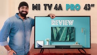 Mi TV 4A Pro 43 inch In-Depth REVIEW - is it worth?