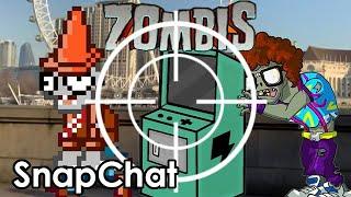 Zombis Snapchat (Especial para tomar fotos de los zombis)