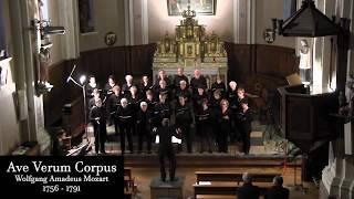 Ave Verum Corpus - Wolfgang Amadeus Mozart - Chorale A Croches Chœur