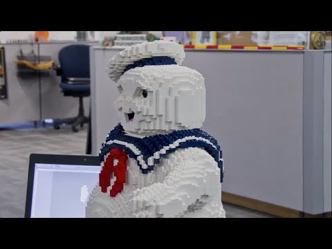 how to build marshmallow man minecraft