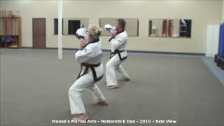 Naihanchi E Dan - Side View - Manna's Martial Arts - 2009