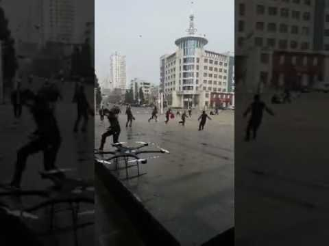 Chinese police killed terrorists at a city square in Xinjiang