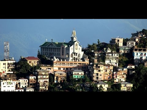 Aizawl city video for traveller [Mizoram state capital]