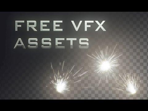 FREE VFX Assets: Metal Impact / Spark Bursts