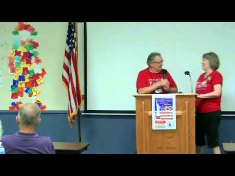 Pre Speaker prayer, salute and announcements Sutter Buttes Tea Party Patriots Oct 6th, 2014
