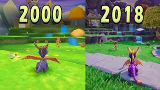 Spyro Reignited Trilogy (2018) vs Spyro: Year of the Dragon (2000) - Introduction