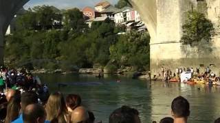 cliff diving in mostar red bull 2016 bosnia