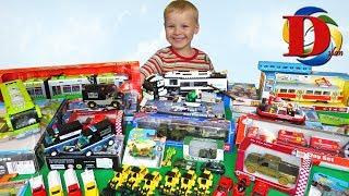 Открываем игрушки машинки Мультики про Машинки Трамвай, метро, поезд Лего Полиция Обзор Игрушки