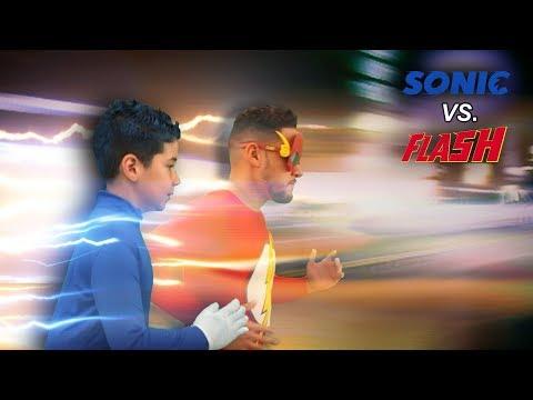Sonic vs. The Flash