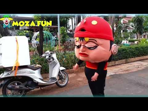 Badut Lucu Badut Tiktok Boboy Badut Mampang Lucu Boneka Mampang Tiktok Youtube
