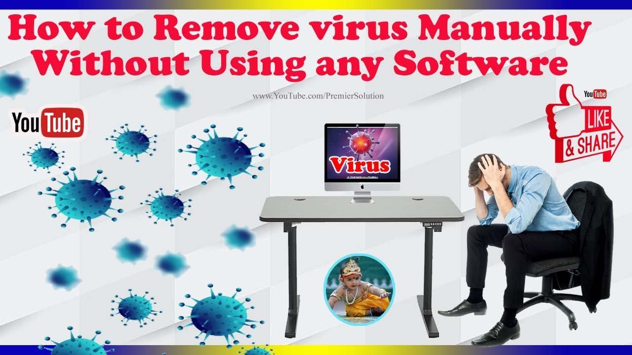Remove trojan virus manually on windows 7/8.