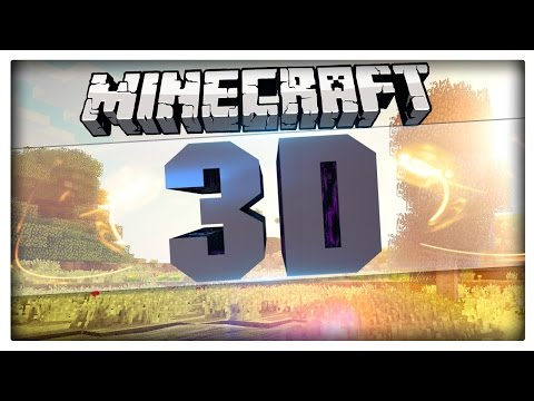 Minecraft - 3D TEXTURE PACK - New Epic 3D Features Resource Pack - Minecraft 1.8.7 / 1.8