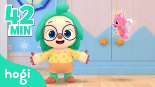 It's bed time, kids! | Hogi Nursery Rhymes | Sing Along with Pinkfong & Hogi | Play with Hogi