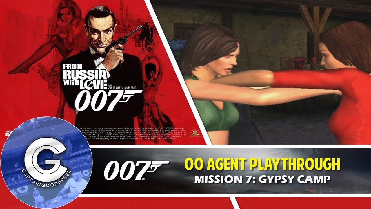 007 From Russia With Love Ps2 Gameplay Mission 7 Gypsy Camp